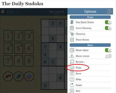 picture relating to Washington Post Sudoku Printable called How in the direction of print Sudoku The Washington Article