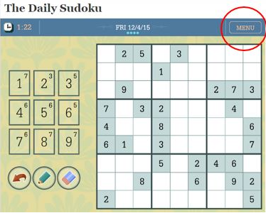 photograph regarding Washington Post Sudoku Printable titled How in the direction of print Sudoku The Washington Short article